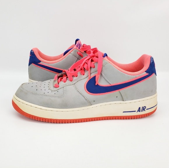 Nike Other - Nike Air Force 1 Low men's Size 12 Grey Royal Blue